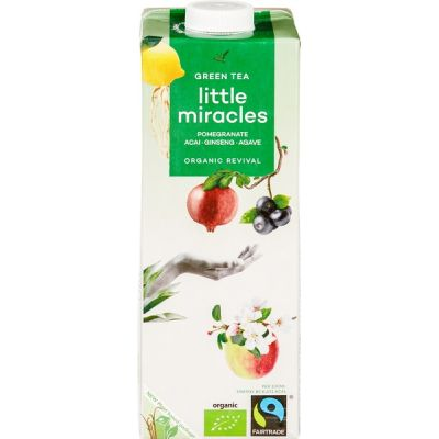 Green tea van Little Miracles, 6 x 1 l