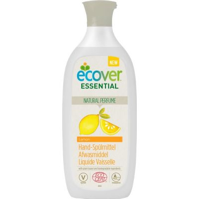 Afwasmiddel lemon van Ecover essential, 12 x 500 ml