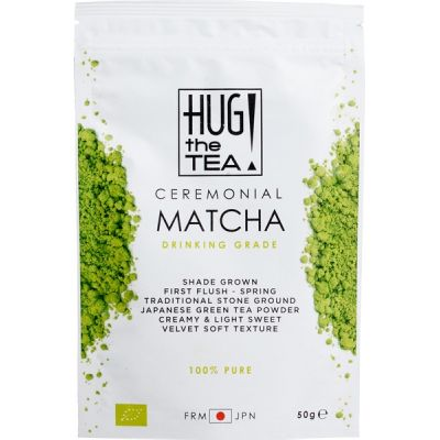 Ceremonial Matcha van Hug the Tea!, 6 x 50 g