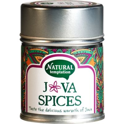 Java spices van Natural Temptation, 6 x 55 g