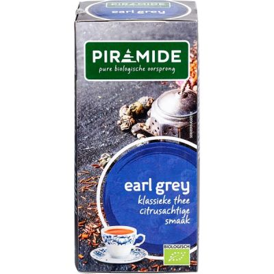 Earl Grey thee van Piramide, 6 x 20 stk