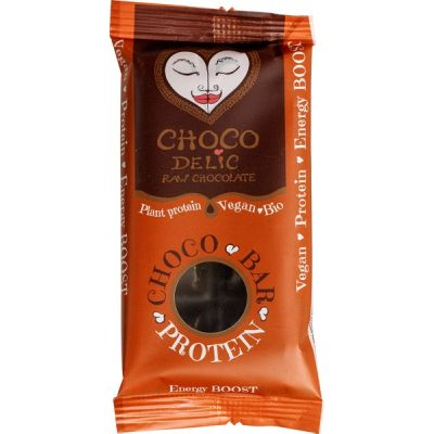 RAW chocolate protein bar van Chocodelic, 10 x 38 g