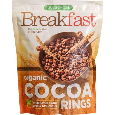 Breakfast cocao rings van Joannusmolen, 6 x 125 g