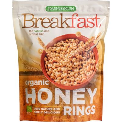 Breakfast honey rings van Joannusmolen, 6 x 125 g