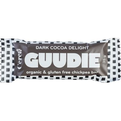 Chickpea bar with cacao van Guudie, 20 x 35 g