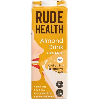 Amandel drink van Rude Health, 6 x 1 l