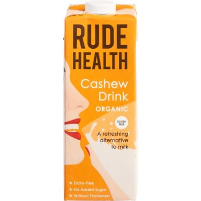 Cashew drink van Rude Health, 6 x 1 l