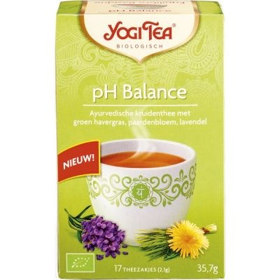 Balance pH van Yogi Tea, 6 x 17 builtjes