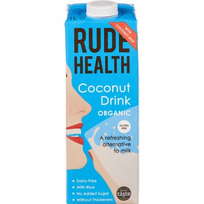 Kokos drink van Rude Health, 6 x 1 l