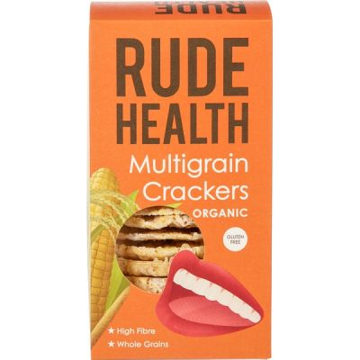 Multigraan cracker van Rude Health, 5 x 160 g