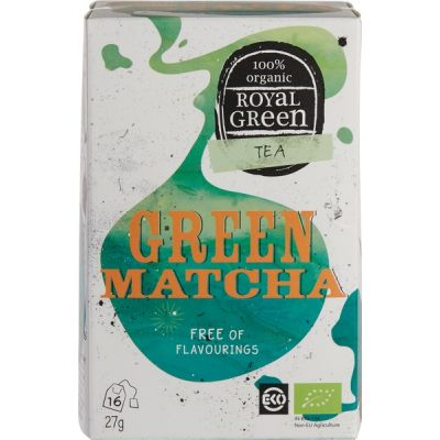 Green Matcha van Royal Green, 1 x 16 stk