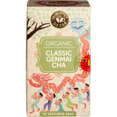Classic Genmai Cha Tea van Ministry of Tea, 6 x 35 g