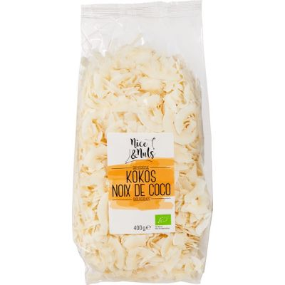 Kokoschips van Nice & Nuts, 6 x 400 g