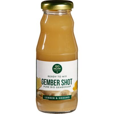 Gember shot van Go Now, 12 x 200 ml