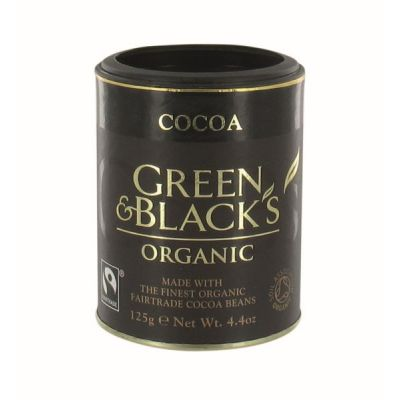 Cacao van Green & Black, 12 x 125 g