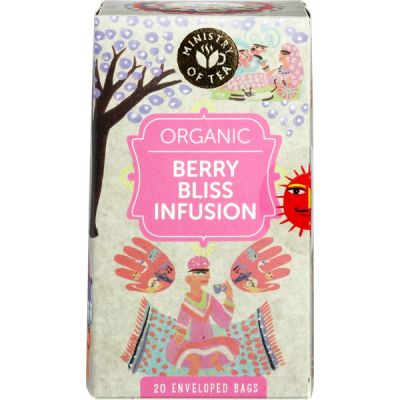 Berry bliss infusion van Ministry of Tea, 6 x 20 stk