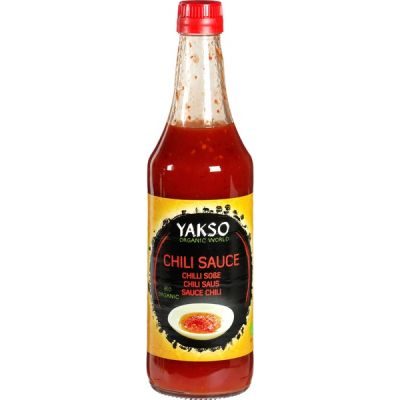Chilisaus van Yakso, 6 x 480 ml