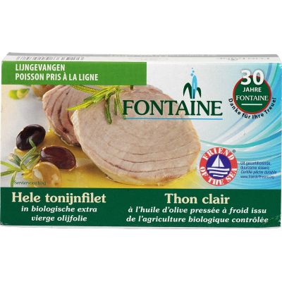 Tonijnfilet in olijfolie van Fontaine, 10 x 120 g