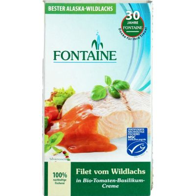 Wilde zalmfilet tom.bas. van Fontaine, 6 x 200 g
