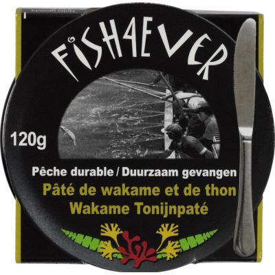 Wakame tonijnpaté van Fish 4 Ever, 6 x 120 g