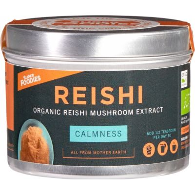Reishi mushroom extract van Superfoodies, 1 x 60 g