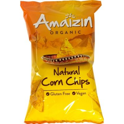 Corn chips natural van Amaizin, 10 x 150 g