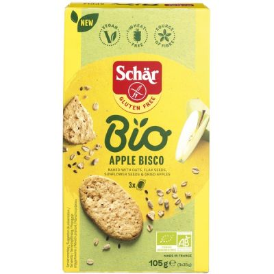 Apple Bisco GV van Dr. Schär, 6 x 105 g