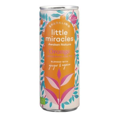 Sparkling Orange van Little Miracles, 12 x 250 ml