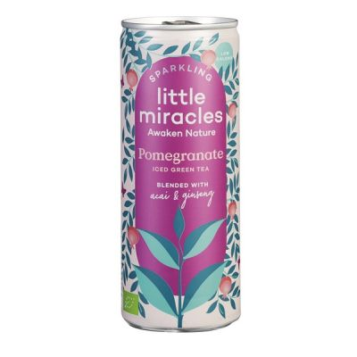 Sparkling Pomegranade van Little Miracles, 12 x 250 ml