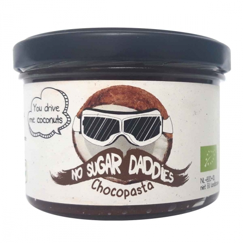 Chocopasta kokos van No Sugar Daddies, 6 x 200 g