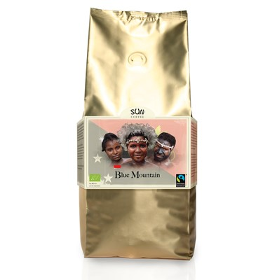 Arabica Blue Mountain Medium Roast van SUN coffee bonen, 1 x 1 k
